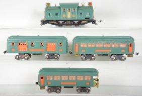 Nicely Restored Lionel 10e Passenger Set