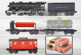 Boxed Lionel 204 Steam Freight Set