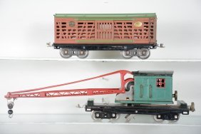Partially Restored Lionel 213 & 219 Freight Cars
