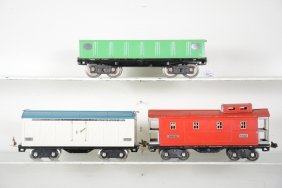 Late Lionel Freight Cars