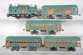 Clean Extended Lionel 10e Passenger Set