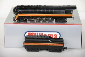 Williams Die Cast N&w J Steam Locomotive