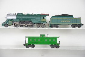 Custom Painted Southern Berkshire & Caboose