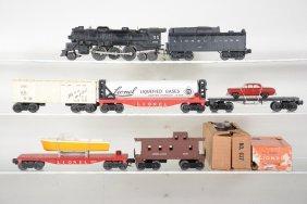 Lionel 637 Steam Freight Set