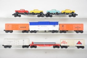 Clean Late Lionel Freight Cars