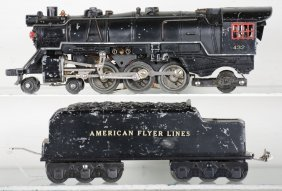 American Flyer 432 Scale Pacific Steam Loco