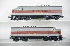 Custom Painted Erie Lackawanna F3s