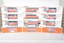 Extended Lionel SP Daylight Passenger Set