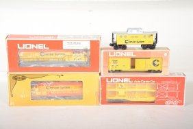 Lionel Chessie Diesel Freight Set