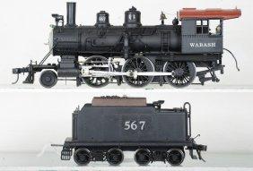 Kemtron 2-rail O Scale Wabash Mogul