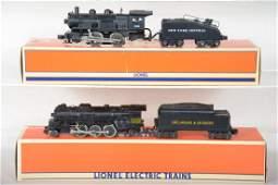 2 Lionel Steam Locomotives