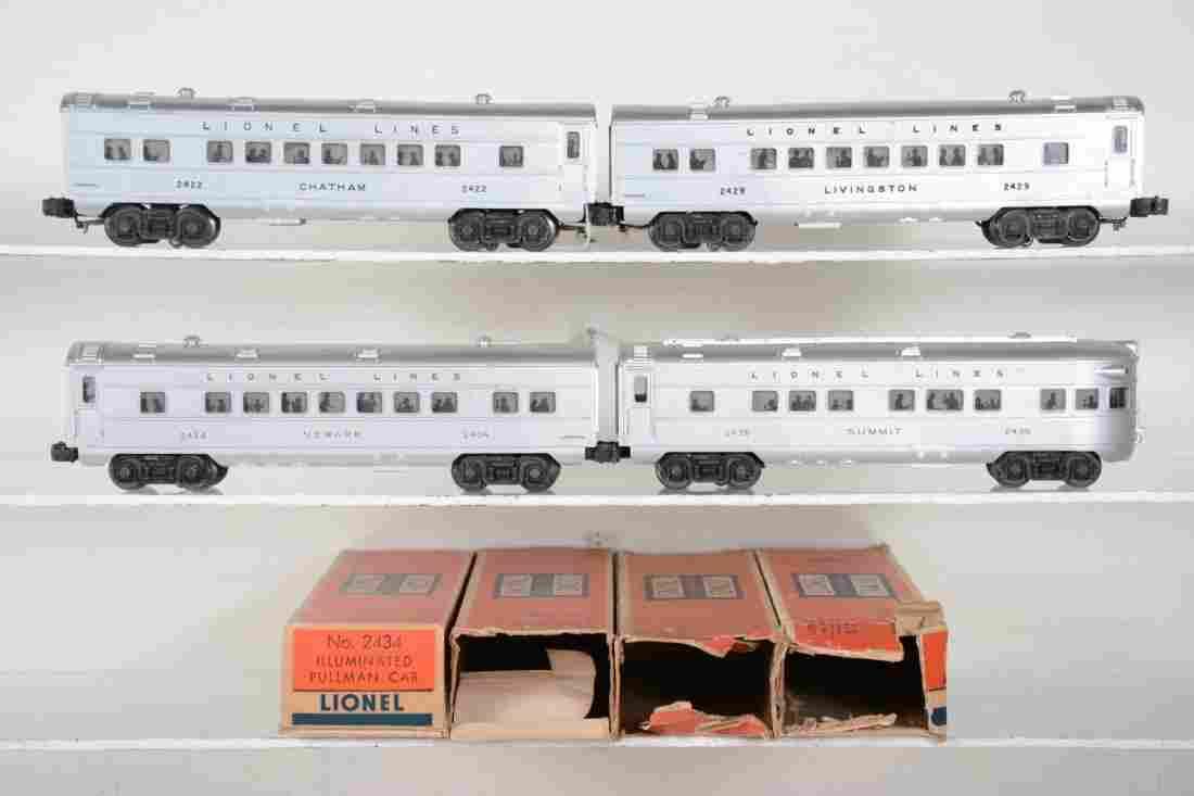 Clean Boxed Lionel Passenger Cars
