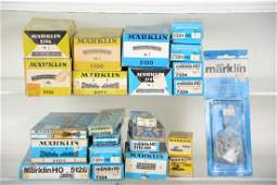 Boxed Marklin HO Track & Switches, Plus
