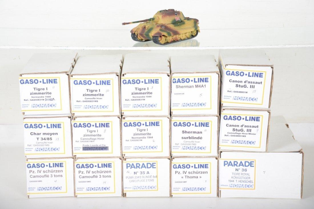 15 Gaso-Line Momaco Military Models
