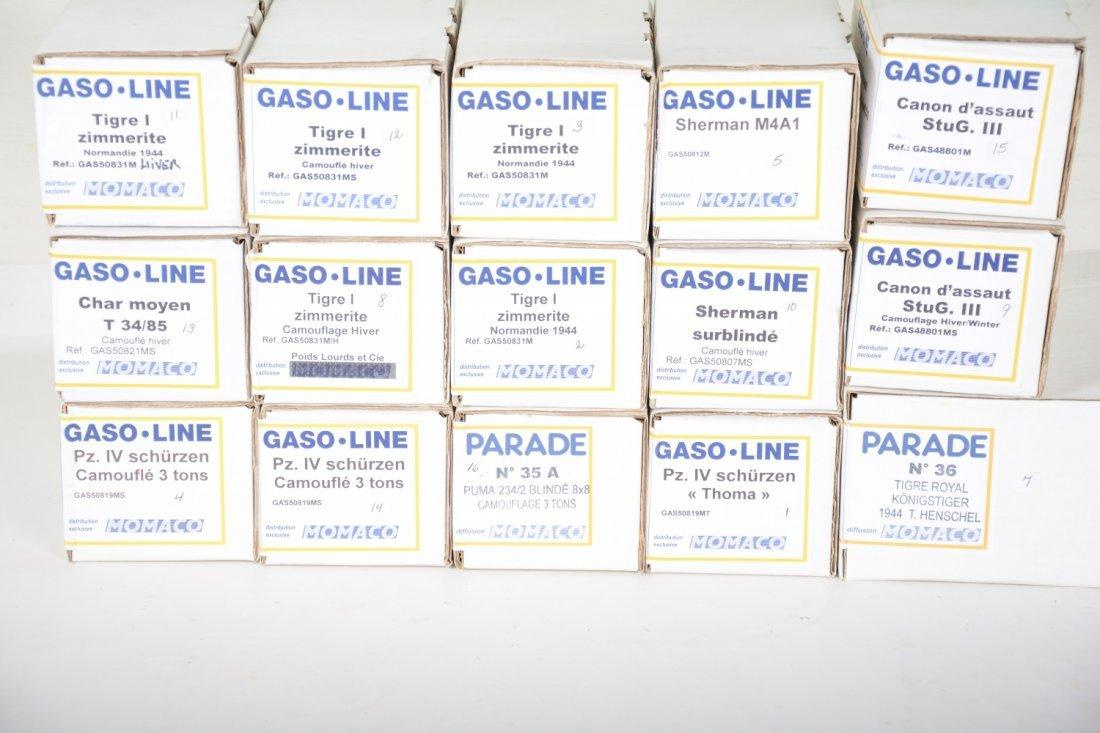 15 Gaso-Line Momaco Military Models - 4