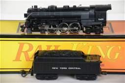 MTH RailKing 30-1121-1 NYC Hudson Locomotive