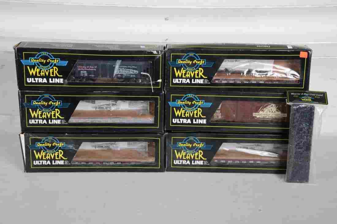 O Ga. Weaver Freight Cars