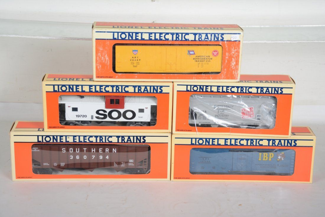 O Ga. Lionel Standard O Freight Cars