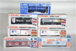 O Ga Lionel  KLine Freight Cars