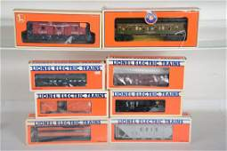 O Ga Lionel Freight  Passenger Cars
