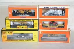 O Ga MTH  Lionel Flat Cars  Diecast Trucks