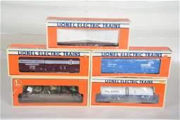 O Ga. 5 Lionel Standard O Freight Cars