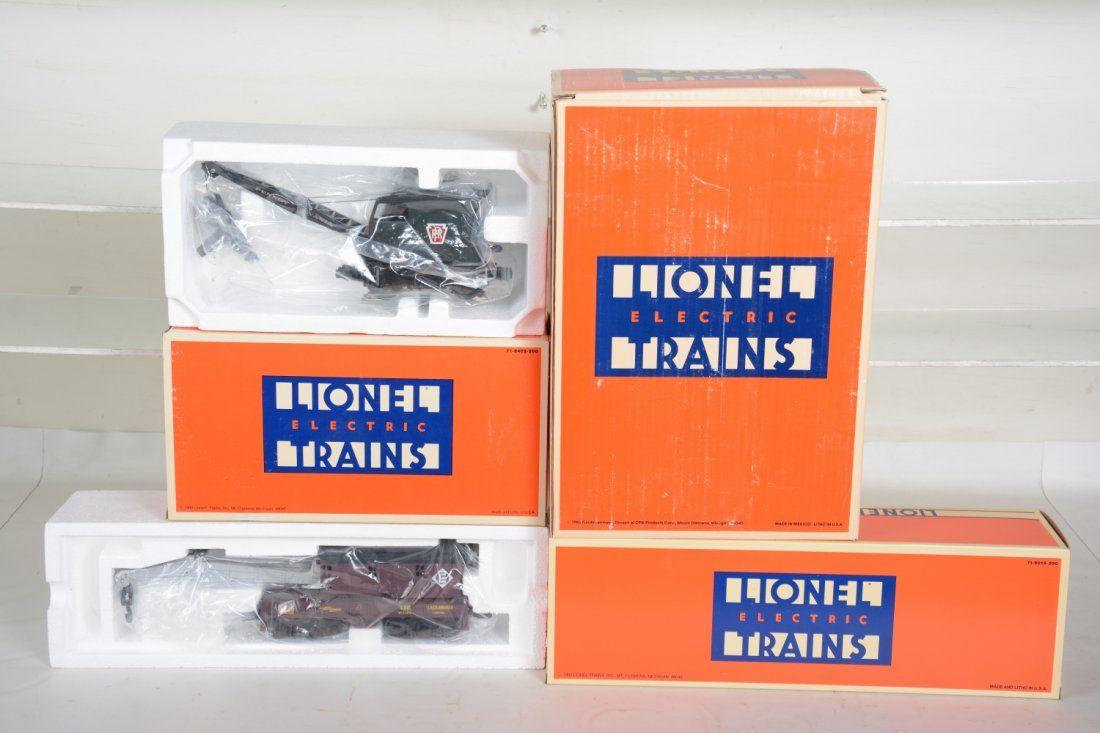 O Ga. Lionel 2316, 18410 & 16658 Cranes