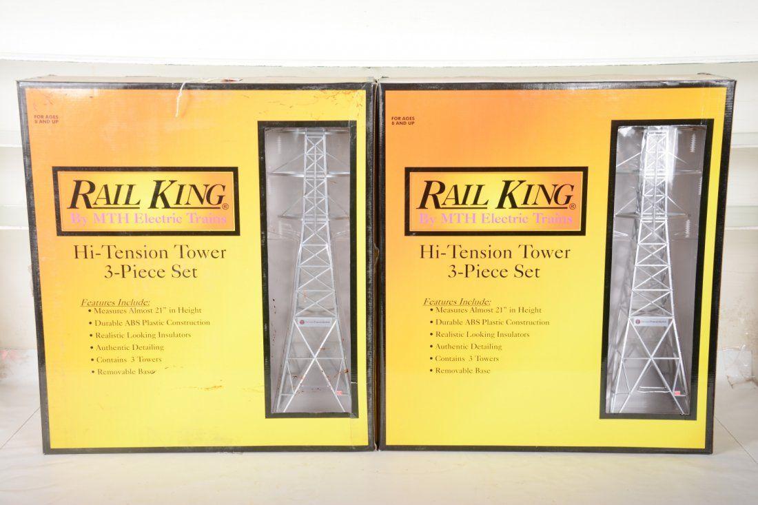 O Ga. 2 MTH RailKing 30-1056 High Tension Towers