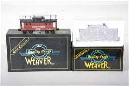 O Ga. Weaver Brass PRR Cabooses