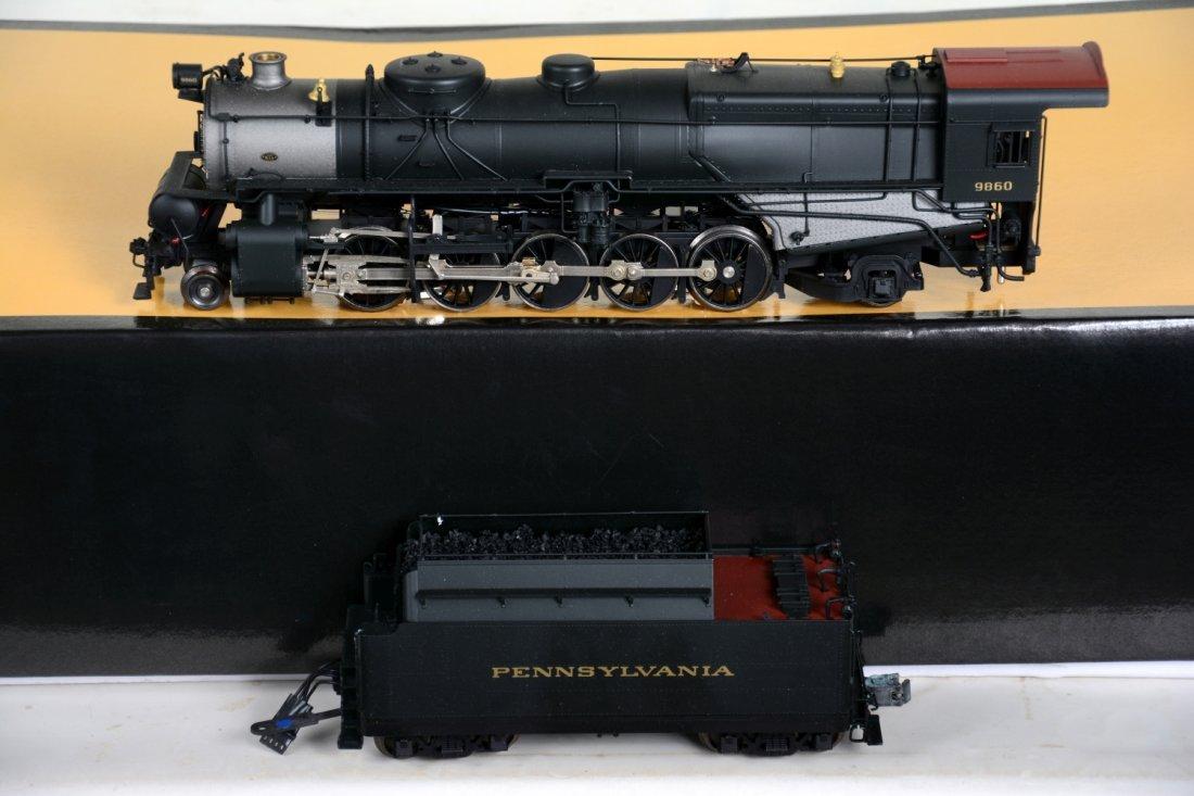 O Ga  3rd Rail Sunset Brass PRR N1s Steam Locomotive