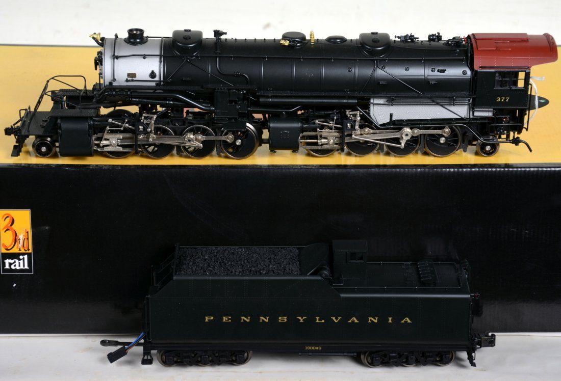 O Ga. 3rd Rail Sunset Brass PRR Y3 Mallet