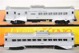 O Ga MTH RailKing 3021441 BO RDC Budd Car Set