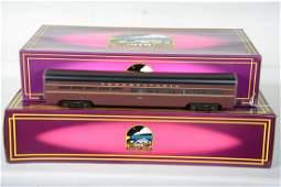 O Ga MTH Premier Aluminum 6507 PRR Passenger Cars