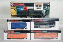 O Ga Lionel Diesel Freight Set