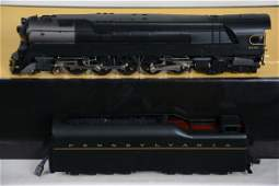 O Ga. 3rd Rail Sunset Brass PRR Q-1  Locomotive