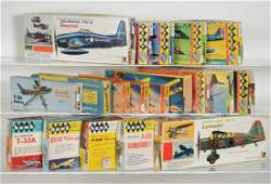 1950s  1960s Airplane Model Kits