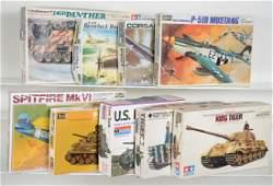 Vintage Military Model Kits