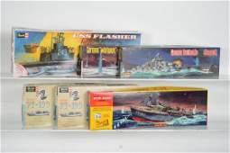 Vintage Military Model Boat Kits