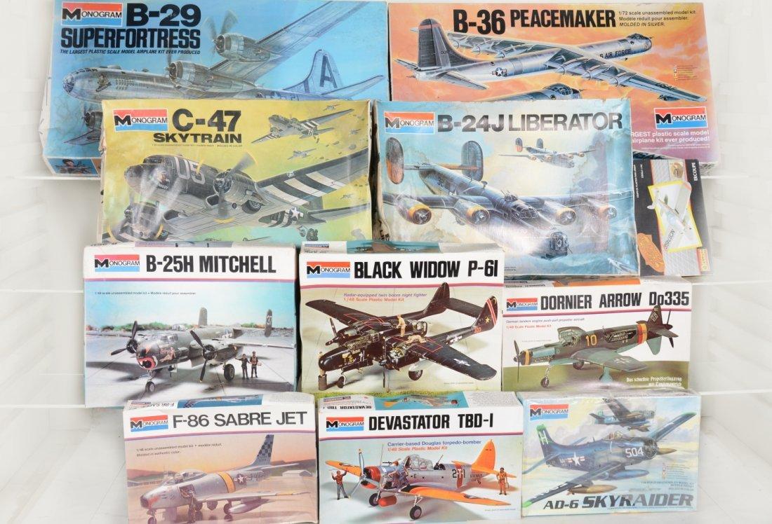 Monogram 1/48 Scale Model Airplane Kits