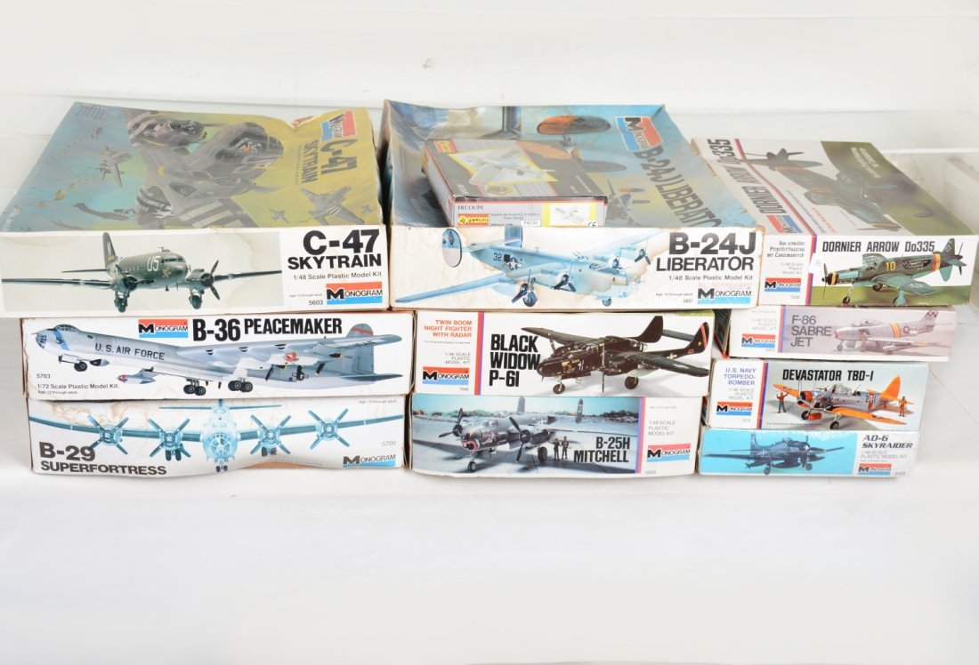 Monogram 1/48 Scale Model Airplane Kits - 2