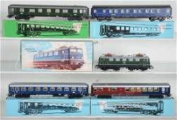 Vintage Marklin HO DB Express Train Set