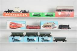 Vintage Marklin HO Train Sets