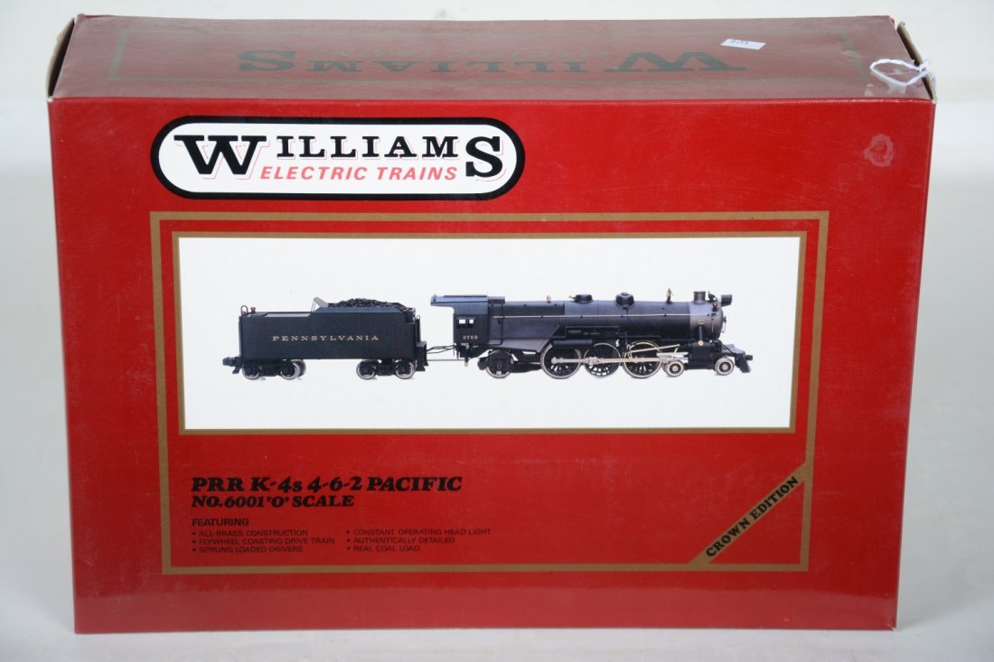 Williams Brass 6001 PRR K4s Pacific