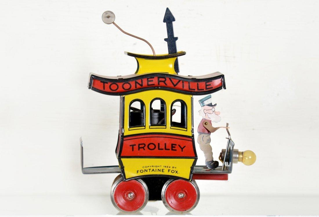 Unusual C&M Standard Ga. Toonerville Trolley