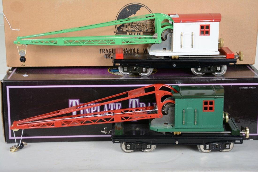 2 MTH Lionel 219 Cranes