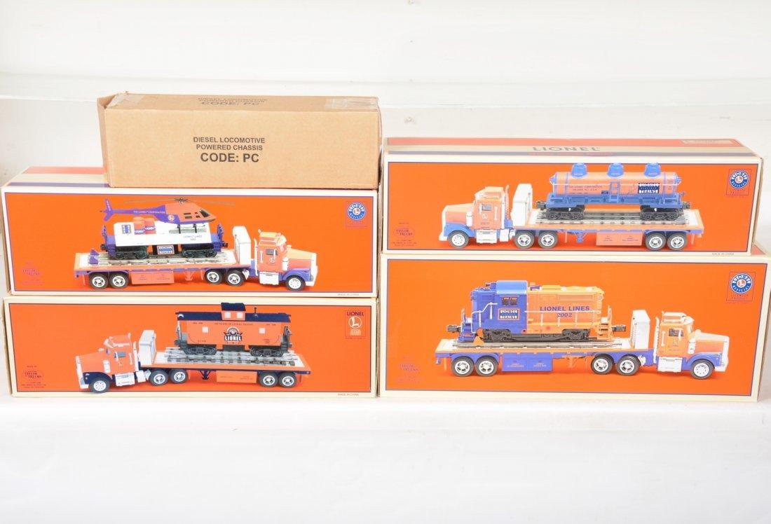 Lionel Flatbed Truck Carrier Set