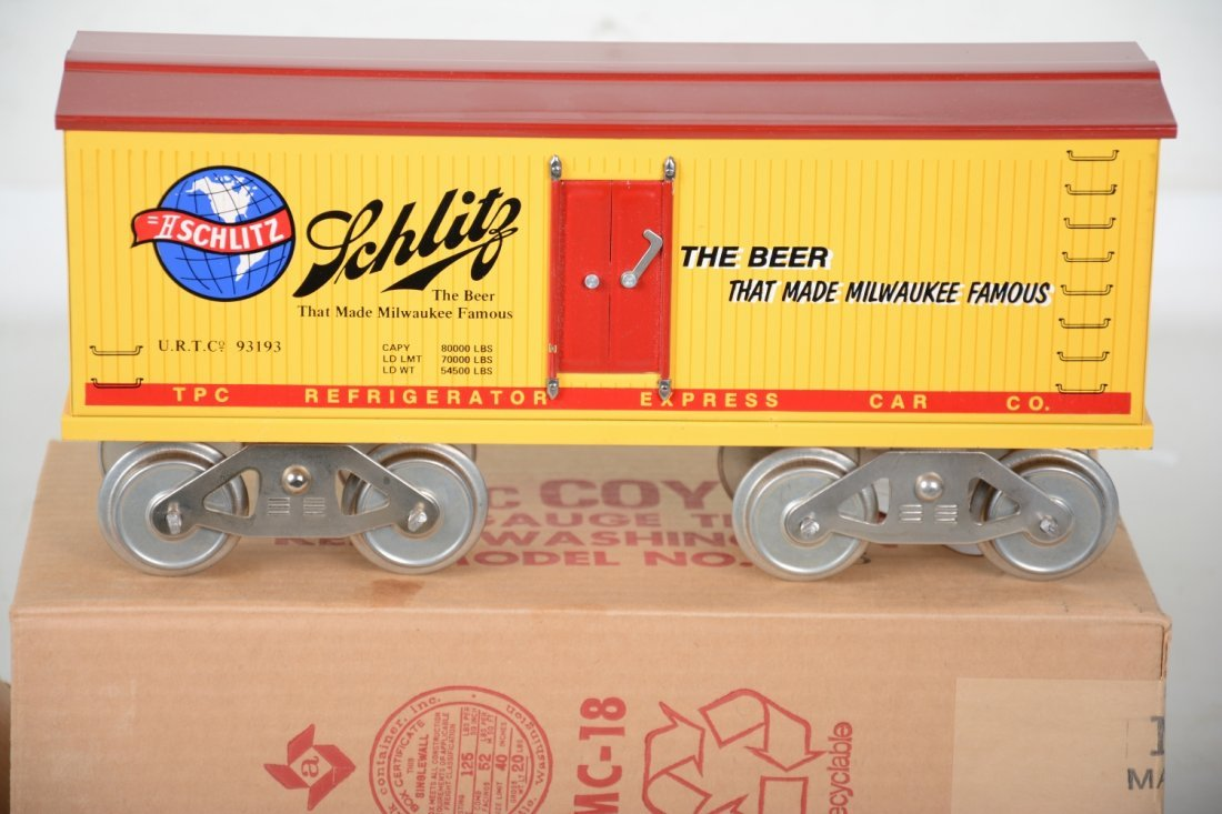 Rare Boxed Mc Coy Schlitz Reefer