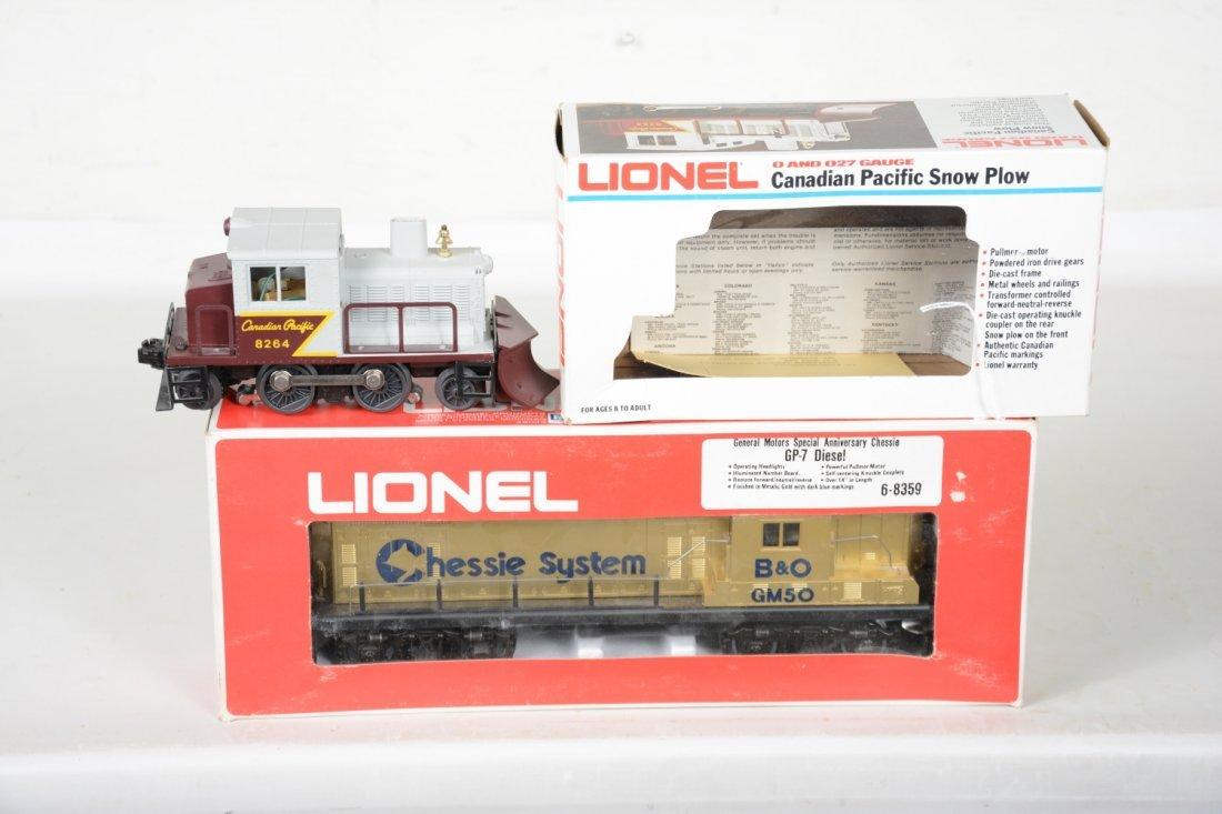 2 Lionel MPC Power Units
