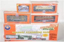 Lionel Holiday Train Extension Pieces