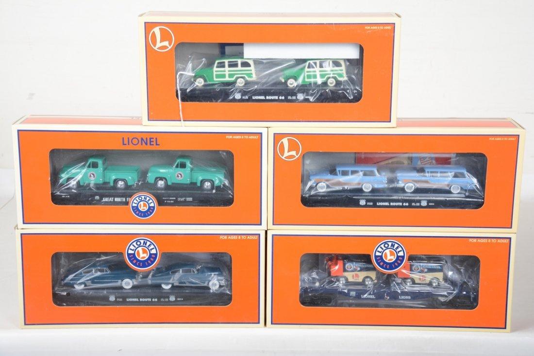 5 Lionel Auto-Loaders